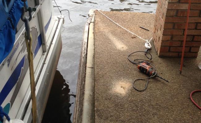 BullodgConstruction-company-Boat-House-foam